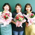 専門学校 九州スクール・オブ・ビジネス 11月の体験入学(フラワー/ブライダルフラワーなど)