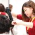 大阪ベルェベル美容専門学校 この冬♪ベルェベルで気になる実習を体験!1