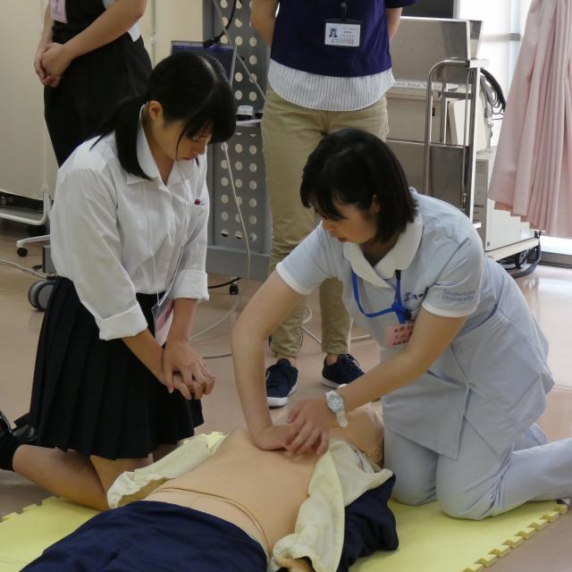 オープンキャンパス(看護栄養学部)