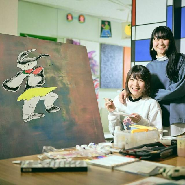 新潟デザイン専門学校 描いて・つくって・夢中になって★NCADオープンキャンパス1