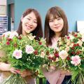 専門学校 九州スクール・オブ・ビジネス 12月の体験入学(フラワー/ブライダルフラワーなど)