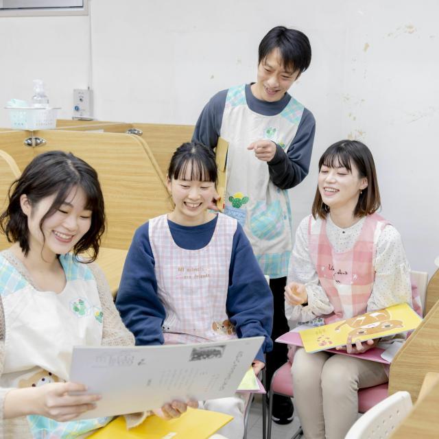 日本児童教育専門学校 初めての方向け|オンライン学校説明会!4