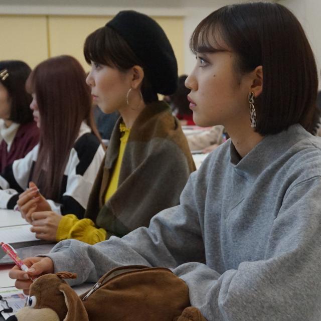 静岡デザイン専門学校 ブライダル・ビューティー科 学校説明会1