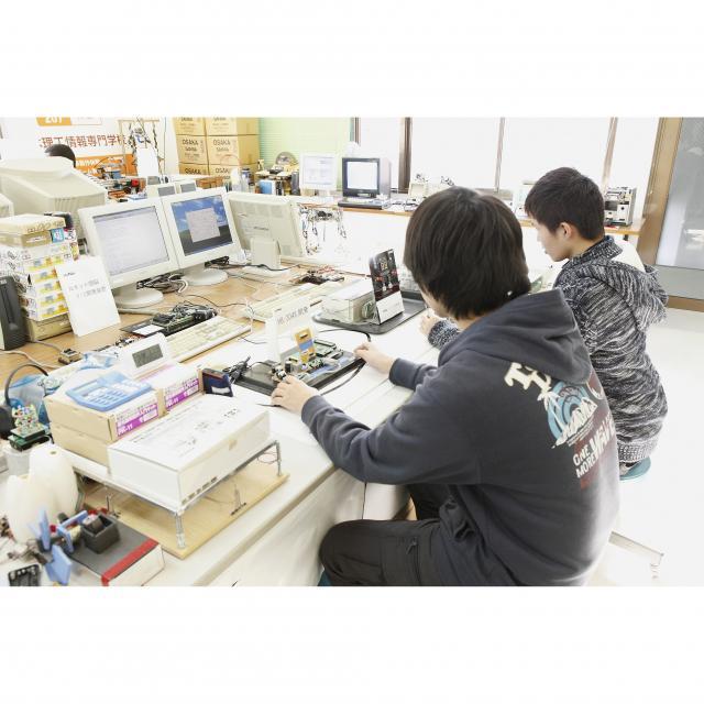 日本理工情報専門学校 ★電子・情報工学科★オープンキャンパスへGO!3