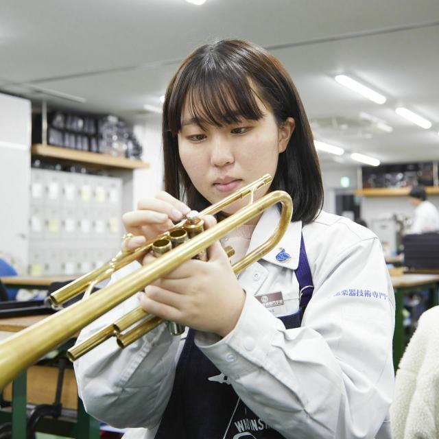 中部楽器技術専門学校 高1~2の方!進学相談会in神戸【管楽器リペア科】1