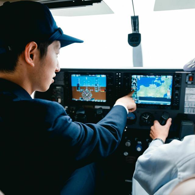 日本航空大学校 操縦科オープンキャンパス!3