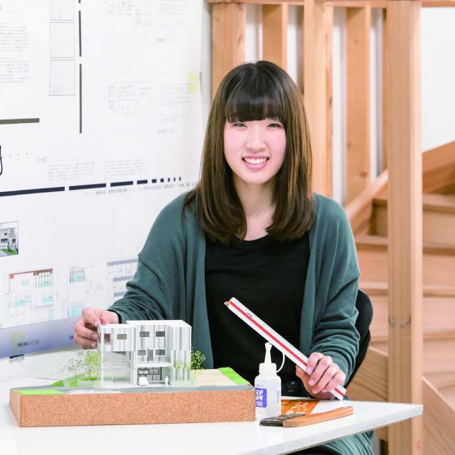 中央工学校 2018体験入学☆建築模型や建築CAD/BIMを体験しよう!3