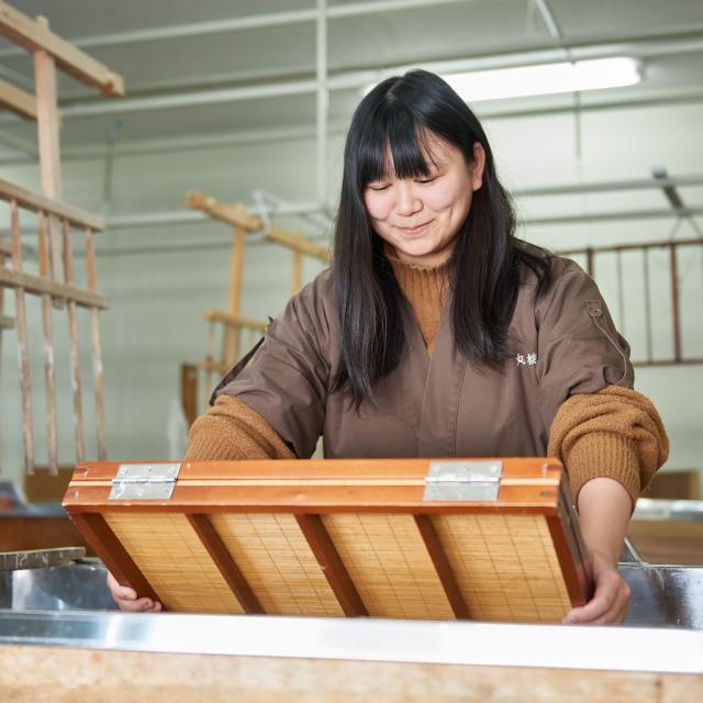京都伝統工芸大学校 工芸体験キャンパス2018 和紙工芸1