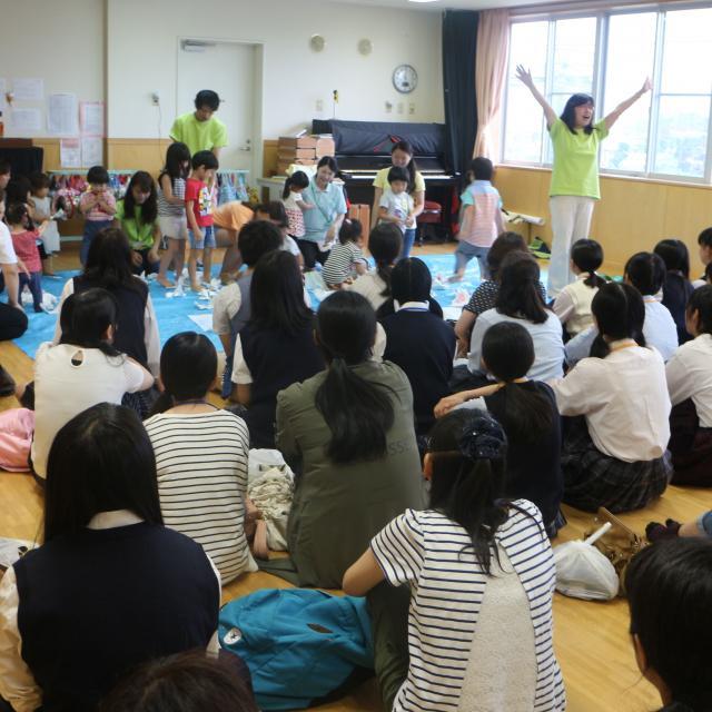 埼玉東萌短期大学 保育現場の遊びを体験しよう!4