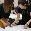 目白ファッション&アートカレッジ ファッションアドバイザー体験