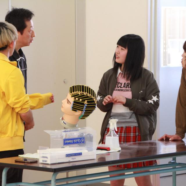 福島県高等理容美容学院 夏季オープンスクール(7月開催)3
