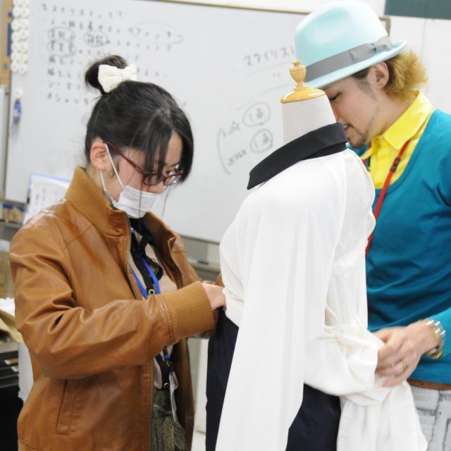 マロニエファッションデザイン専門学校 スタイリングレッスン(1)2
