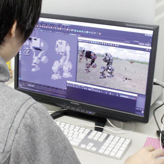 専門学校 九州デザイナー学院 8月の体験入学(ゲーム)3