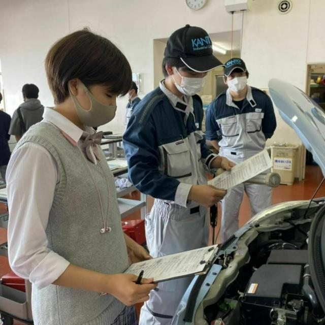 関東工業自動車大学校 体験型オープンキャンパス!(※平日対応も可)1