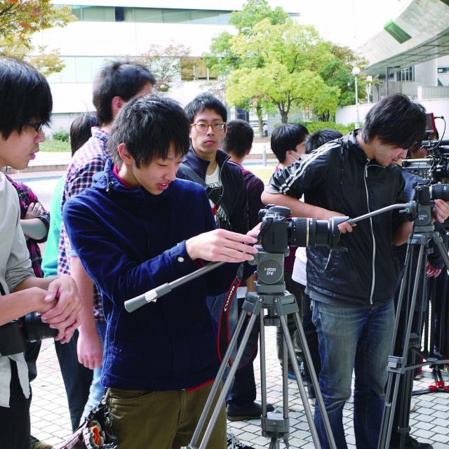 ビジュアルアーツ専門学校・大阪 放送・映画学科 体験入学3
