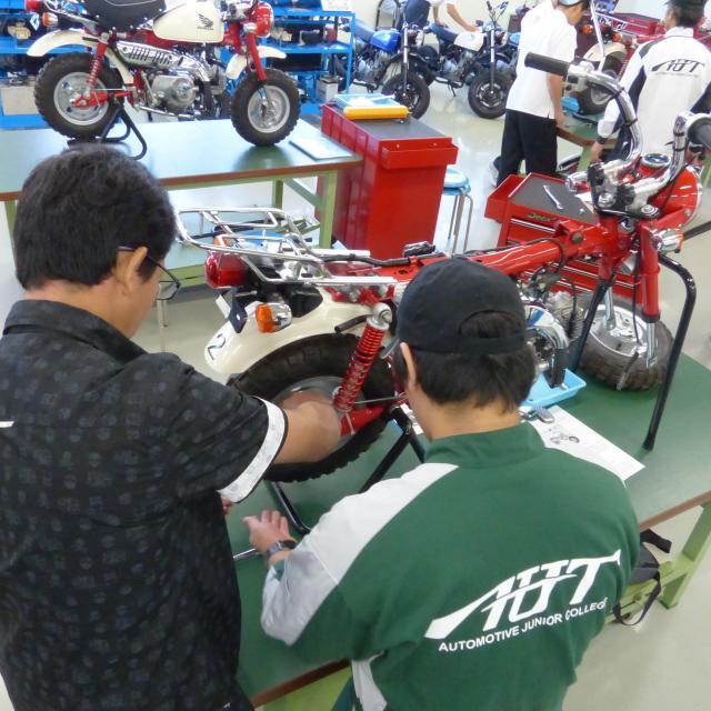 愛知工科大学自動車短期大学 オープンキャンパス3