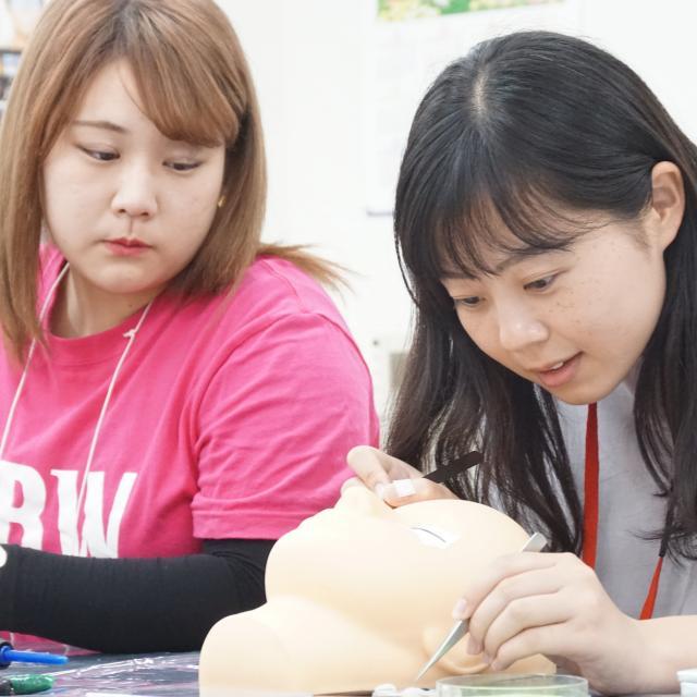 IBW美容専門学校 まつエク、ネイル、ヘアアレンジ、エステ、カットを体験☆2