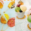 華調理製菓専門学校 デコレーションマドレーヌ&ジェラートタワー