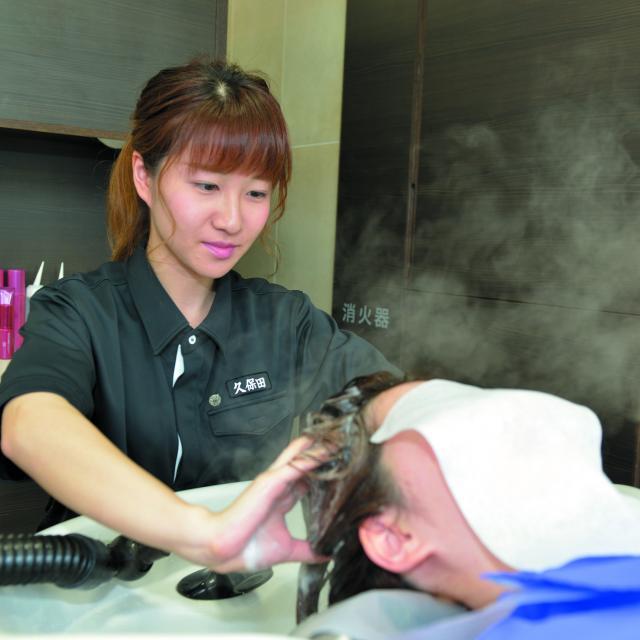 長野理容美容専門学校 ナガビを知ろう いろいろな実習体験できますよ1