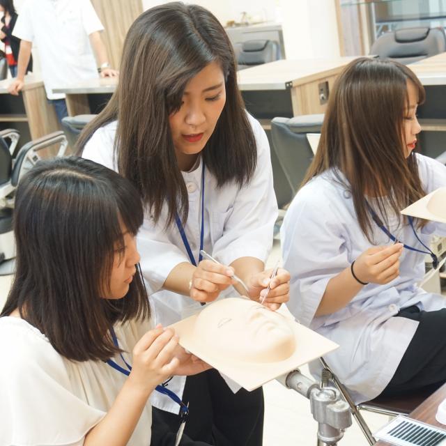 大阪中央理容美容専門学校 チューリビ☆オープンキャンパス2