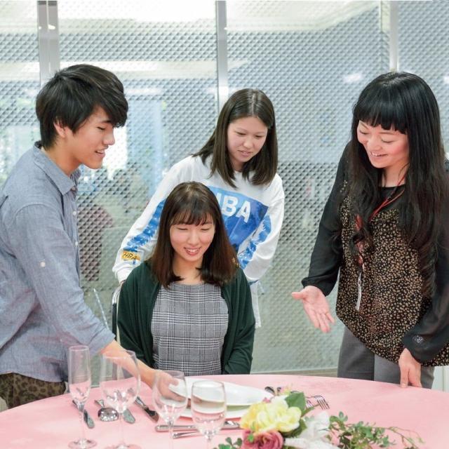大原簿記法律&美容製菓専門学校和歌山校 スペシャル体験学習(ホテル)1
