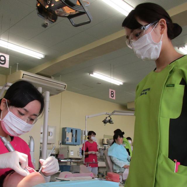 オープンキャンパス(歯科衛生学科)