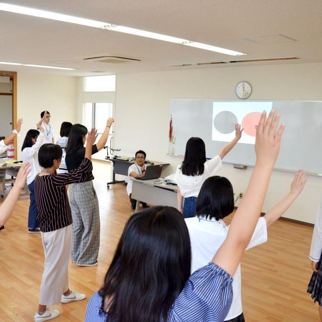 四国中央医療福祉総合学院 オープンキャンパス1