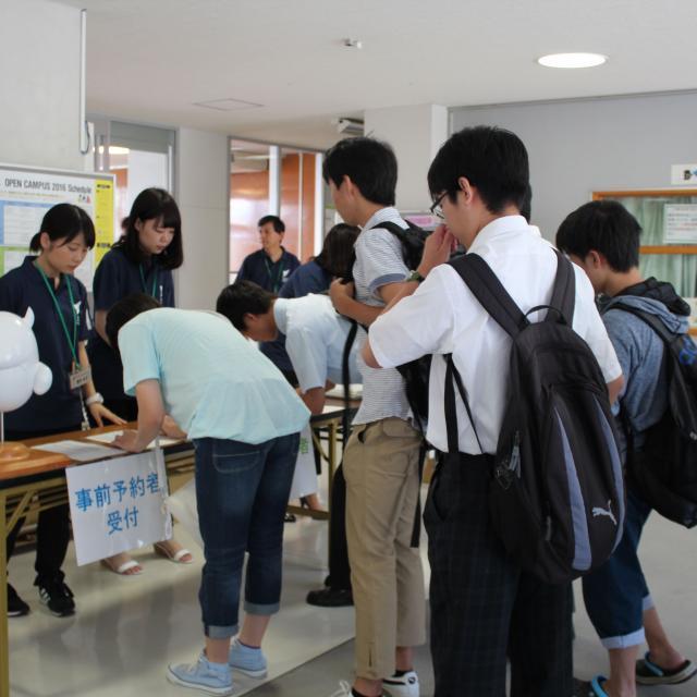静岡産業大学 オープンキャンパス2018 inふじえだ2
