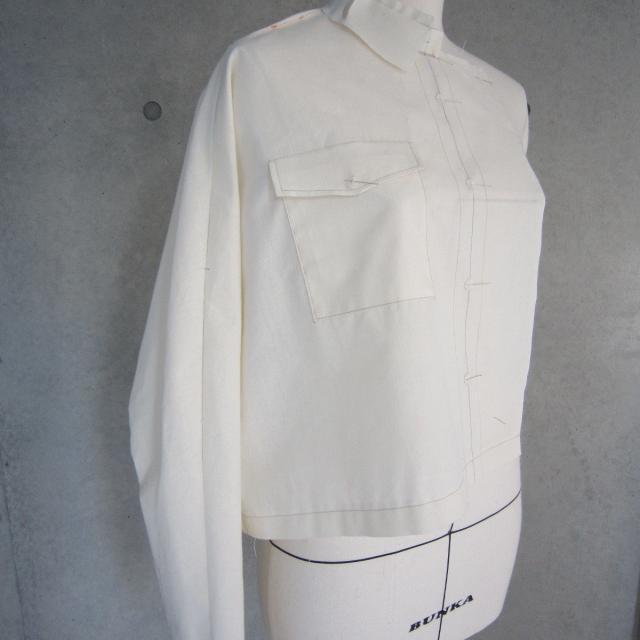 香蘭ファッションデザイン専門学校 【テクニカル科】服の設計図を引いてみよう!1