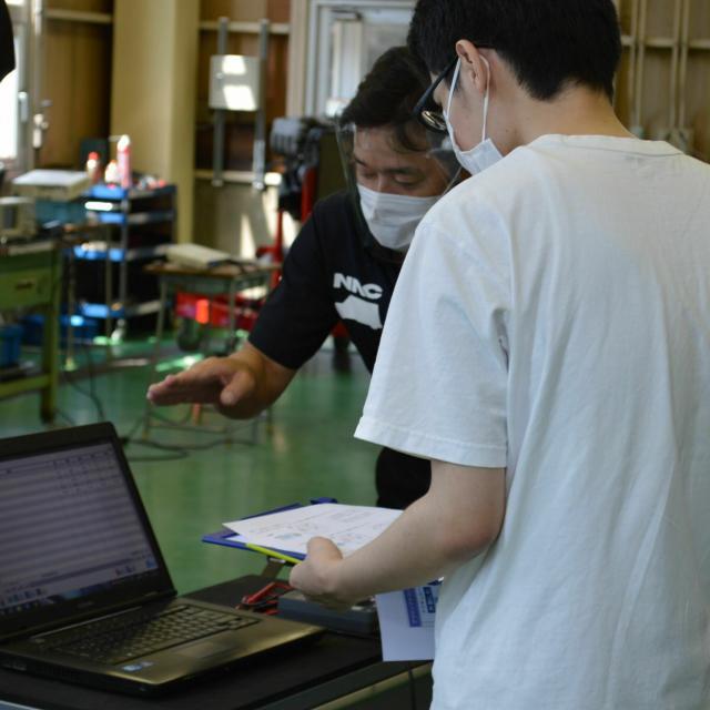 中日本自動車短期大学 体験実習、はじまります!4