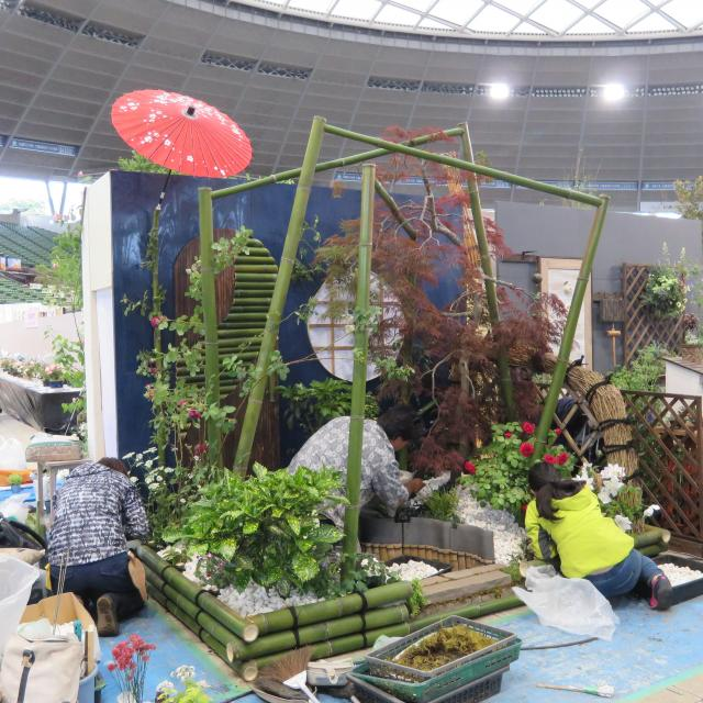 日本ガーデンデザイン専門学校 在校生自らの言葉映像でお伝えします!ガーデンショーへの挑戦3