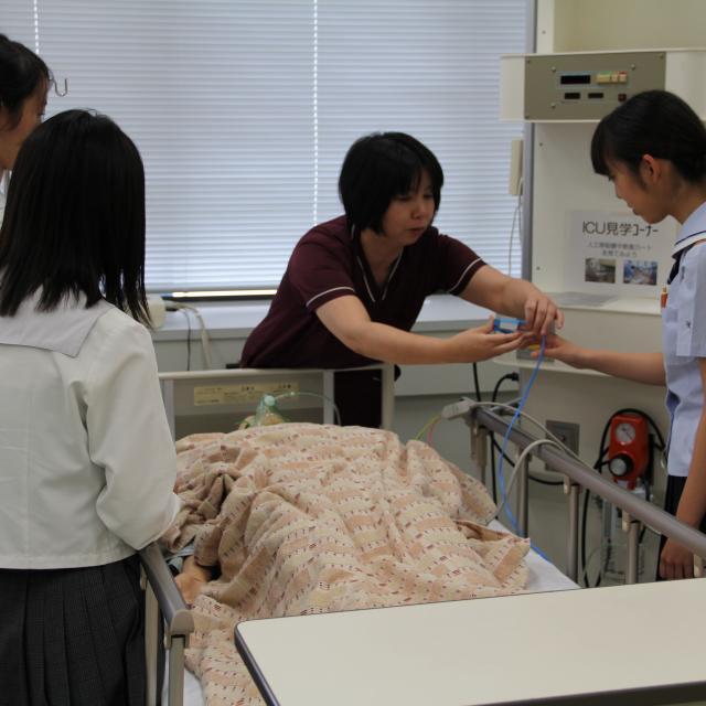山口県立大学 夏の初めのオープンキャンパス20193