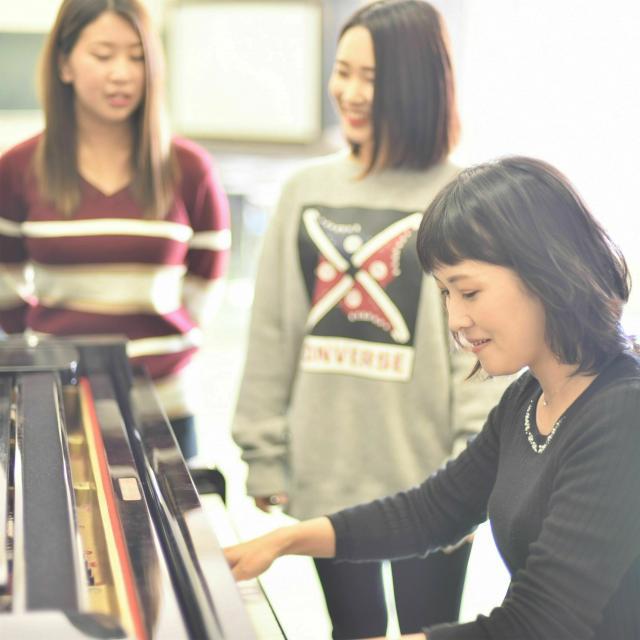 山口短期大学 【幼児教育学専攻】ピアノとおはなし 素敵な時間1