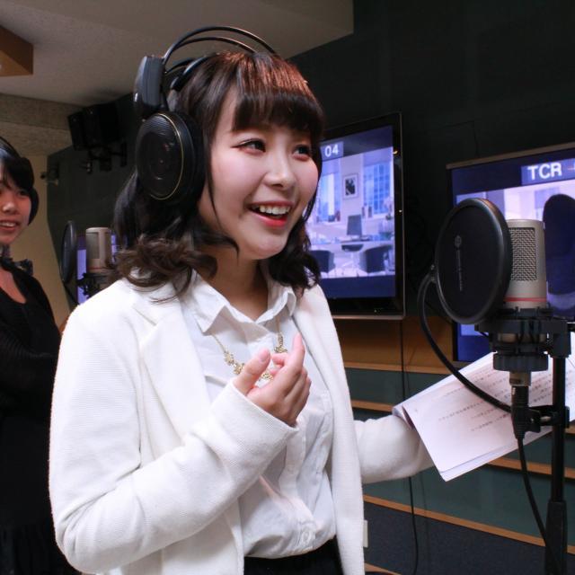 「声優に、俺はなるっ!」 声優専攻8月の体験入学