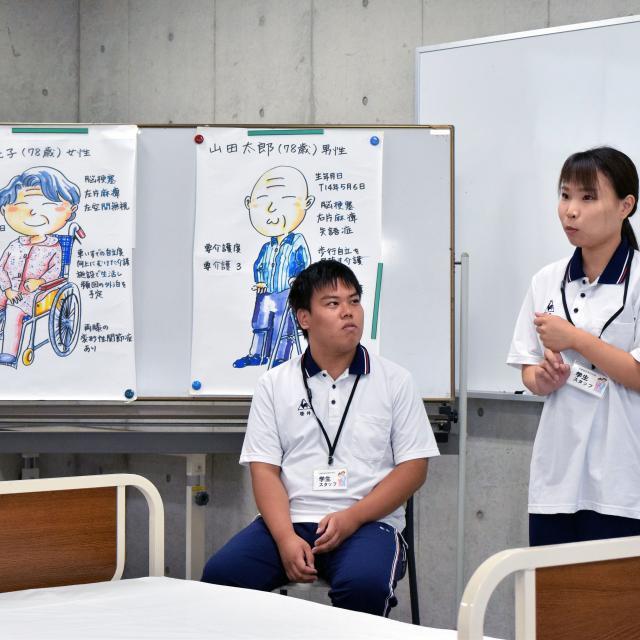 京都福祉専門学校 体験入学会 ~ 介護体験と高齢者福祉施設の見学2