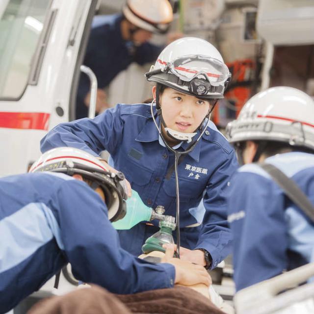 【救急救命士科】救急隊長が教える救急救命士の仕事