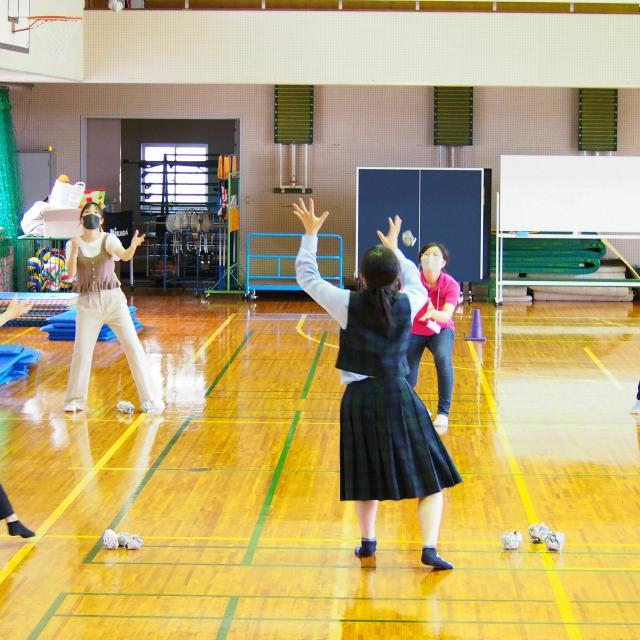 小田原短期大学 来校型オープンキャンパス(模擬授業)3