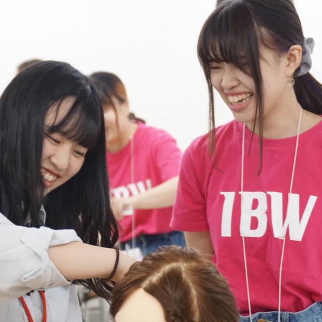 IBW美容専門学校 まつエク、ネイル、ヘアアレンジ、エステ、カットを体験☆3