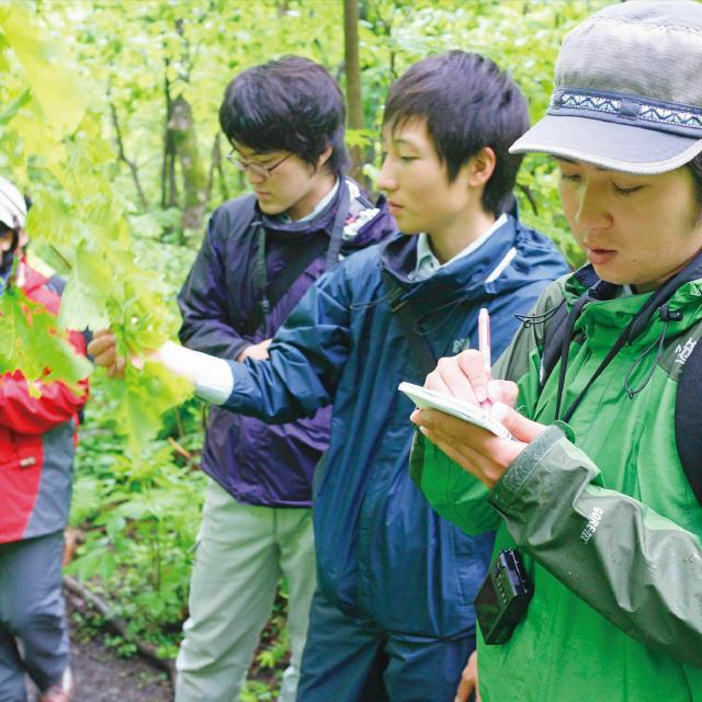 日本自然環境専門学校 環境調査・環境解析を学びたい!1