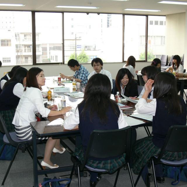 千葉情報経理専門学校 体験入学1