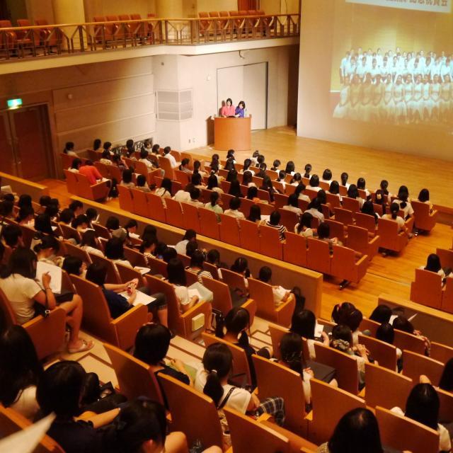 岡崎女子大学 岡崎女子大学 オープンキャンパス20181