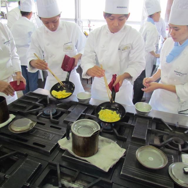 琉球調理師専修学校 調理科 オープンキャンパス3