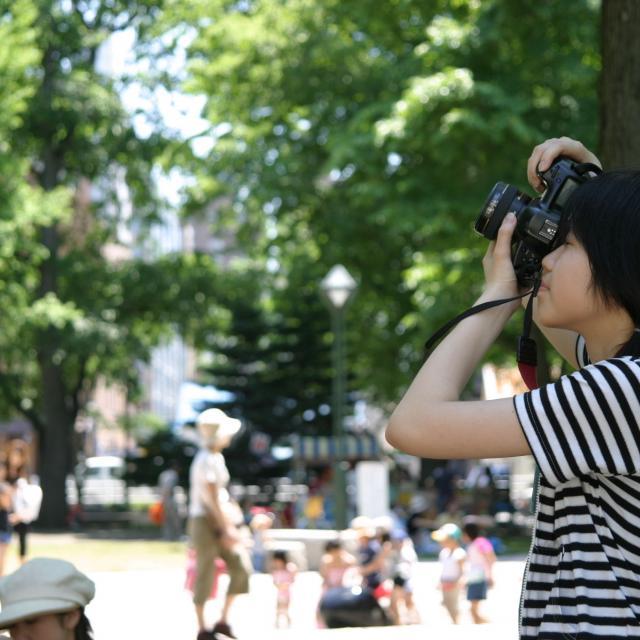 専門学校 札幌ビジュアルアーツ 『心を動かす1枚』カメラテクニックを伝授☆カメラマン体験☆3