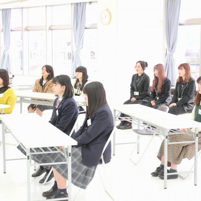 明星国際ビューティカレッジ オープンカレッジ『プレカレッジ体験』1