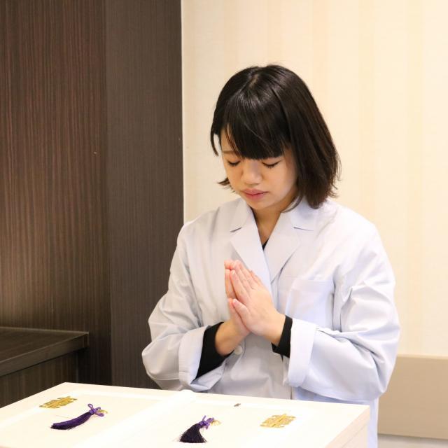 日本ヒューマンセレモニー専門学校 8月24日エンバーマーコース1