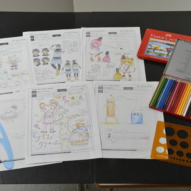 あいち造形デザイン専門学校 商品にあったイメージキャラクターを企画してデザインしよう!1