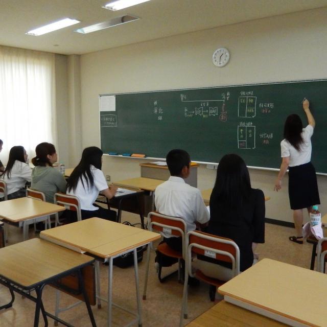 岡山商科大学専門学校 事務職養成学科学科オープンキャンパス3