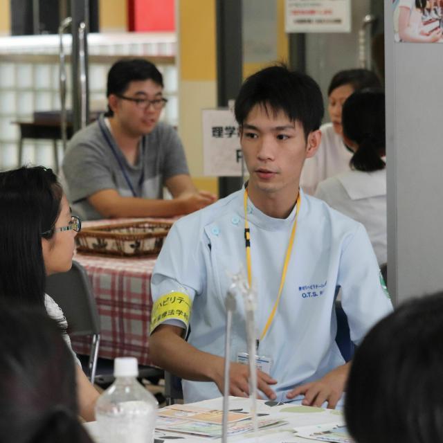 専門学校 柳川リハビリテーション学院 8月の日曜日は学院へ!!学院見学会1