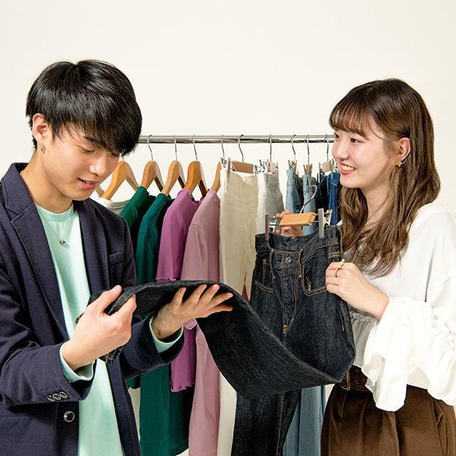 織田ファッション専門学校 ショップスタッフ体験(接客)1