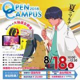 夏のオープンキャンパス(8月)の詳細